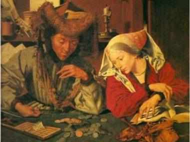 Denaro e Bellezza, la mostra a Palazzo Strozzi. Nell'immagine I Banchieri di Botticelli