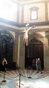Firenze in un giorno: Il Crocifisso di Michelangelo in Santo Spirito, opera giovanile del grande artista presente in Santo Spirito