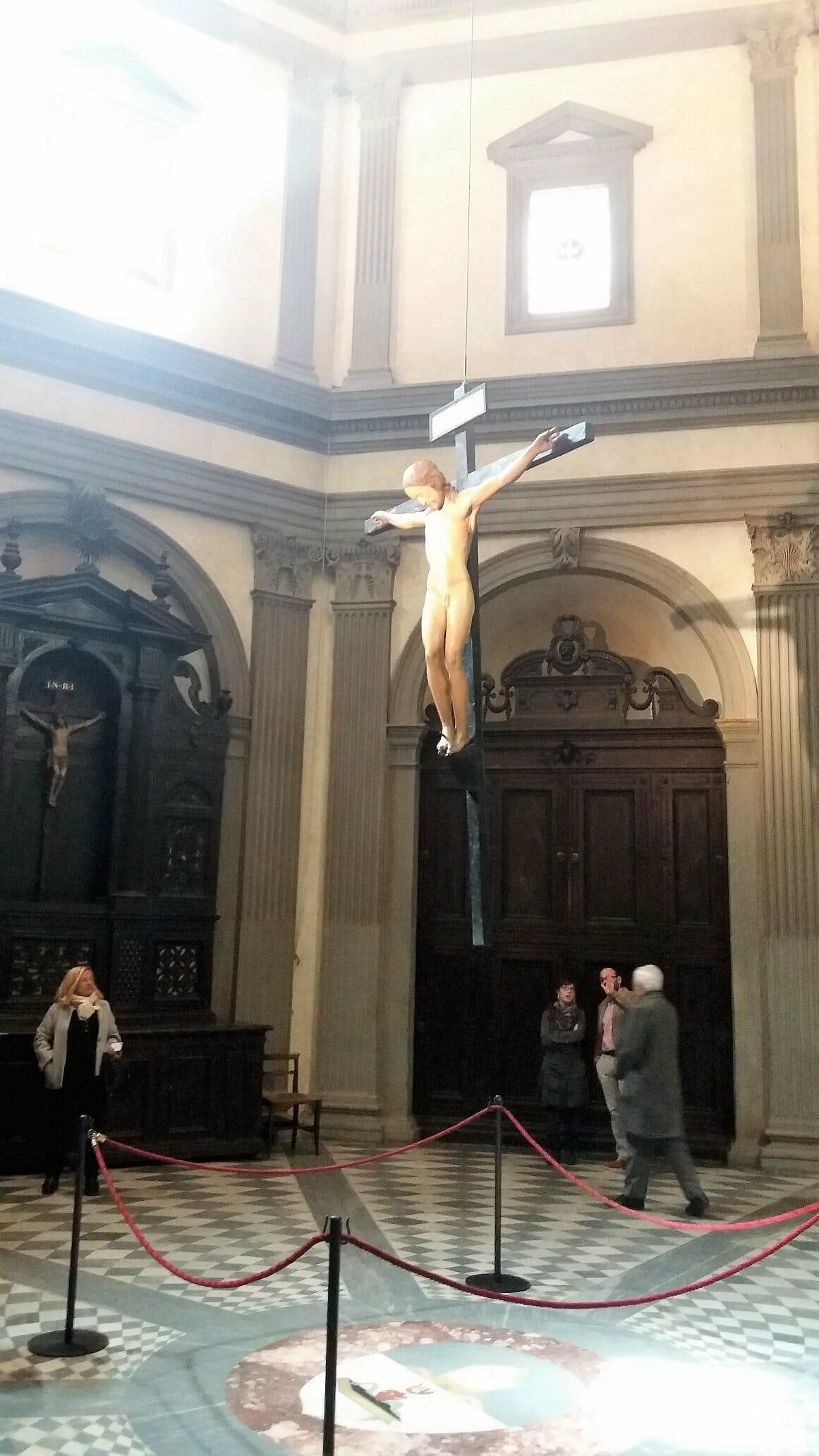 The Michelangelo's Crucifix in Holy Spirit