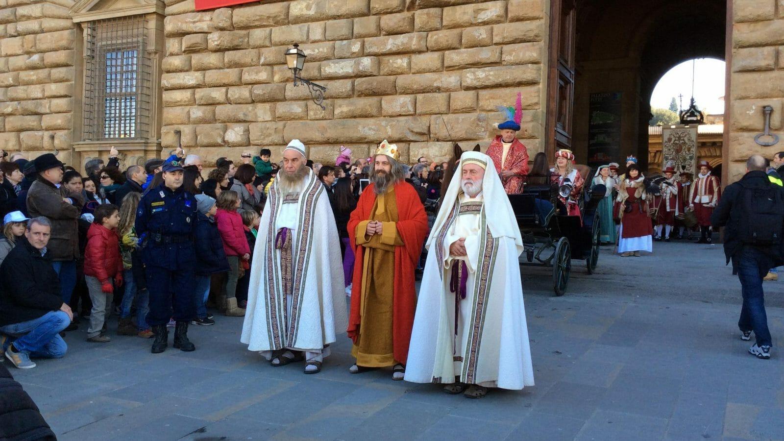 La Cavalcata dei Magi con partenza da Palazzo Pitti