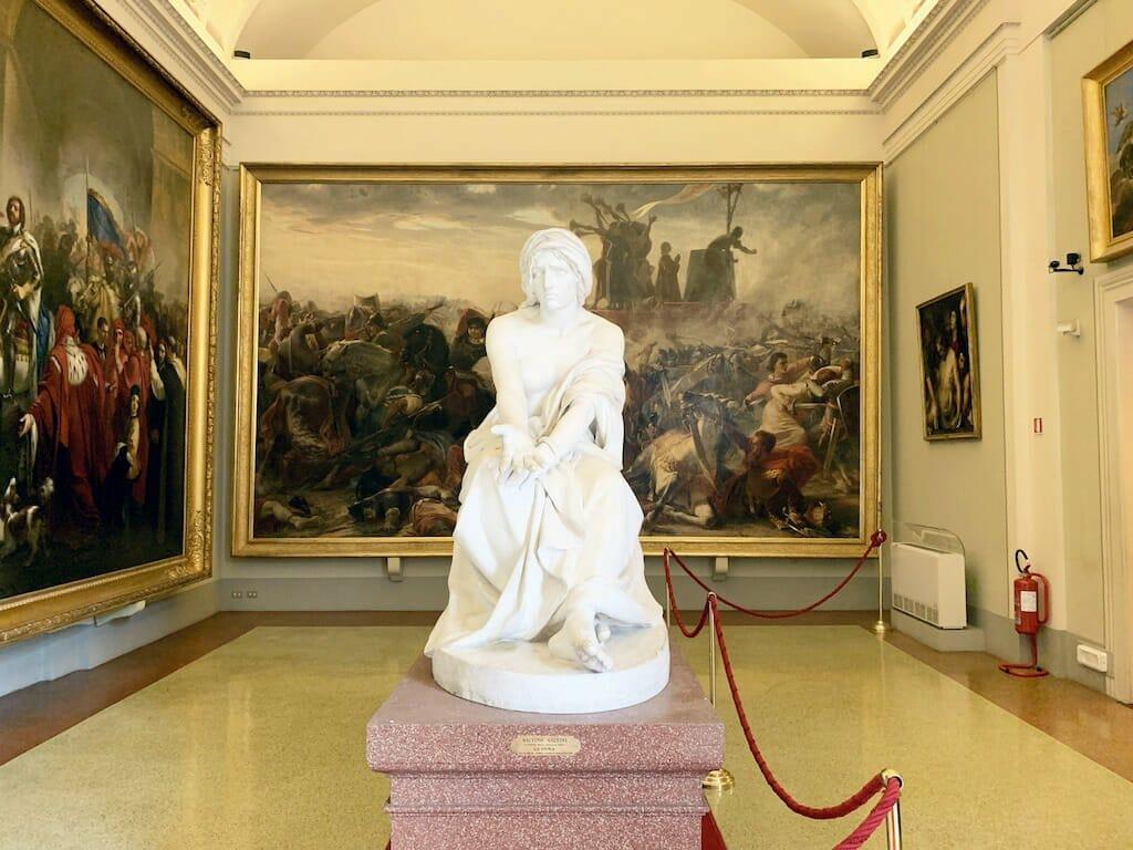 La Gallerie d'Arte Moderna di Firenze ospita opere che vanno dalla fine del Settecento ai primi del Novecento, celebrandone avventimenti, luoghi e uomini!
