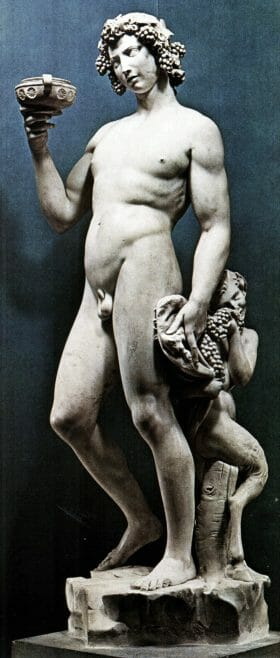 Il Bacco di Michelangelo