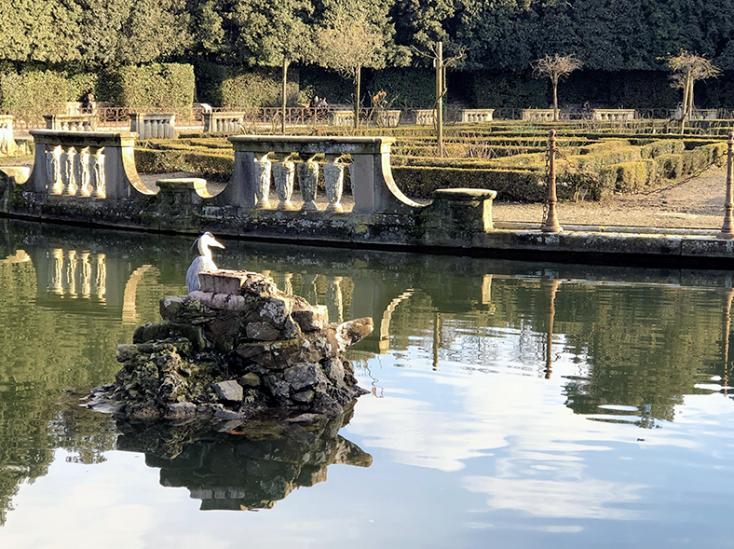 Fontana del Giambologna nel Giardino di Boboli