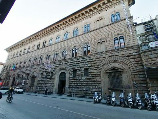 Palazzo Medici Riccardi, la prima residenza medicea in Firenze, progettata da Michelozzo