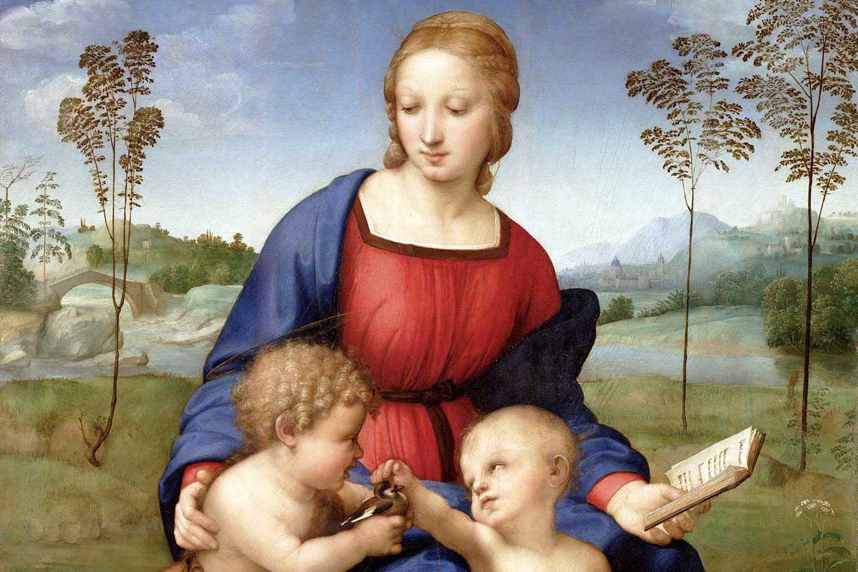 Raffaello Sanzio - Madonna col Cardellino