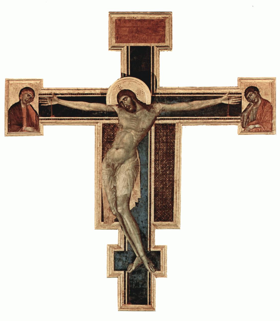 Il Crocifisso di Cimabue è uno dei simboli della morte e rinascita di Firenze dopo la tragica alluvione del 4 novembre 1966. La forza dell'Arno