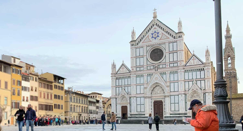 piazza santa croce a firenze