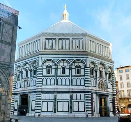 Il Battistero di San Giovanni è uno dei monumenti più importanti per capire il cuore e il carattere della città.