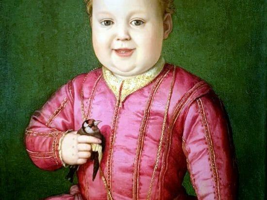 Uffizi Bronzino ritratto di Gioannino dei Medici