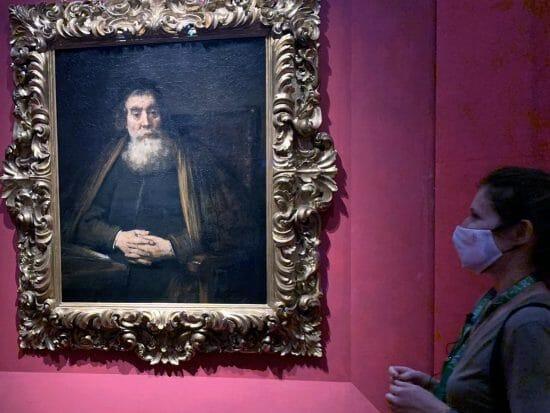 Ritratto di Rabbino Rembrandt