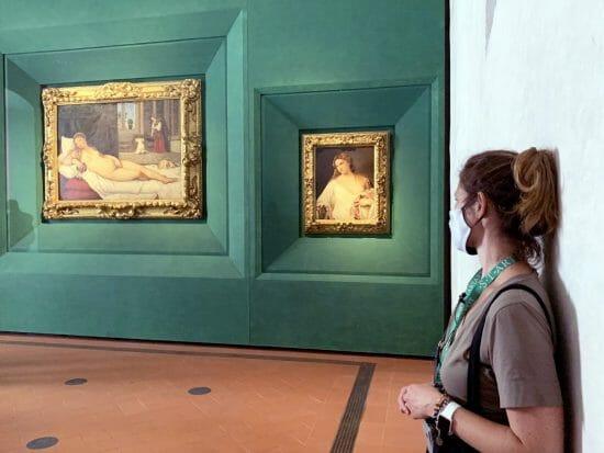 Tiziano, Venere di Urbino e Flora agli Uffizi