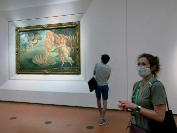 Uffizi Firenze Sandro Botticelli Nascita di Venere