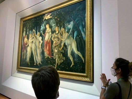 Uffizi La Primavera di Sandro Botticelli