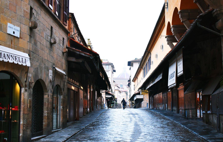 Botteghe orafe su Ponte Vecchio