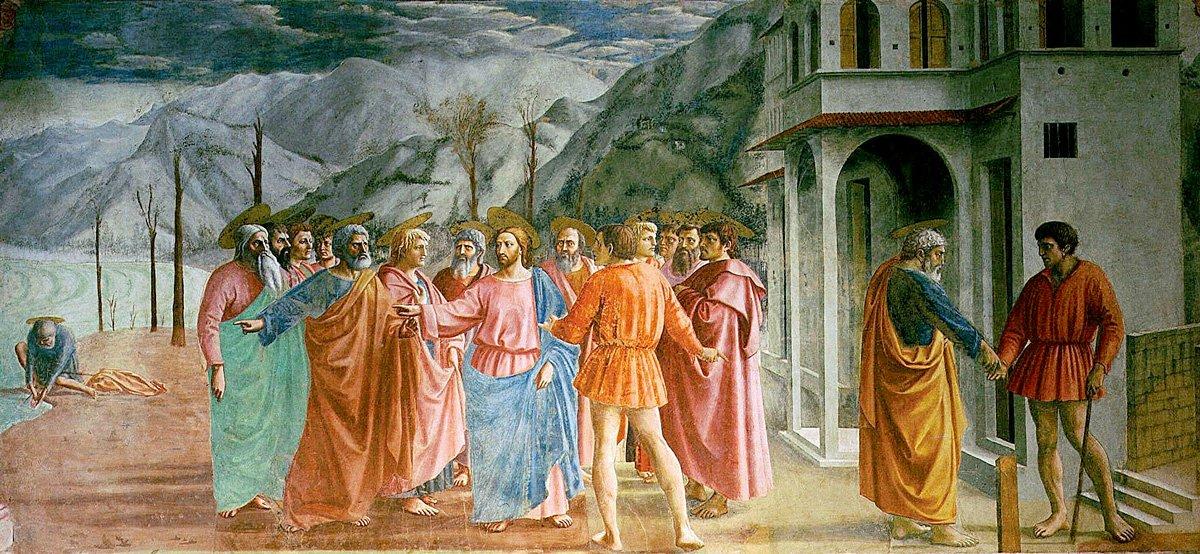 Tributo Affresco Masaccio Cappella Brancacci