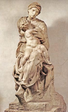 La Madonna Medici di Michelangelo nelle Cappelle Medicee
