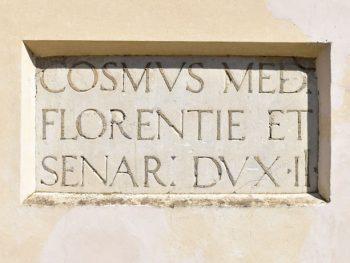 Targa Cosimo dei Medici a San Miniato