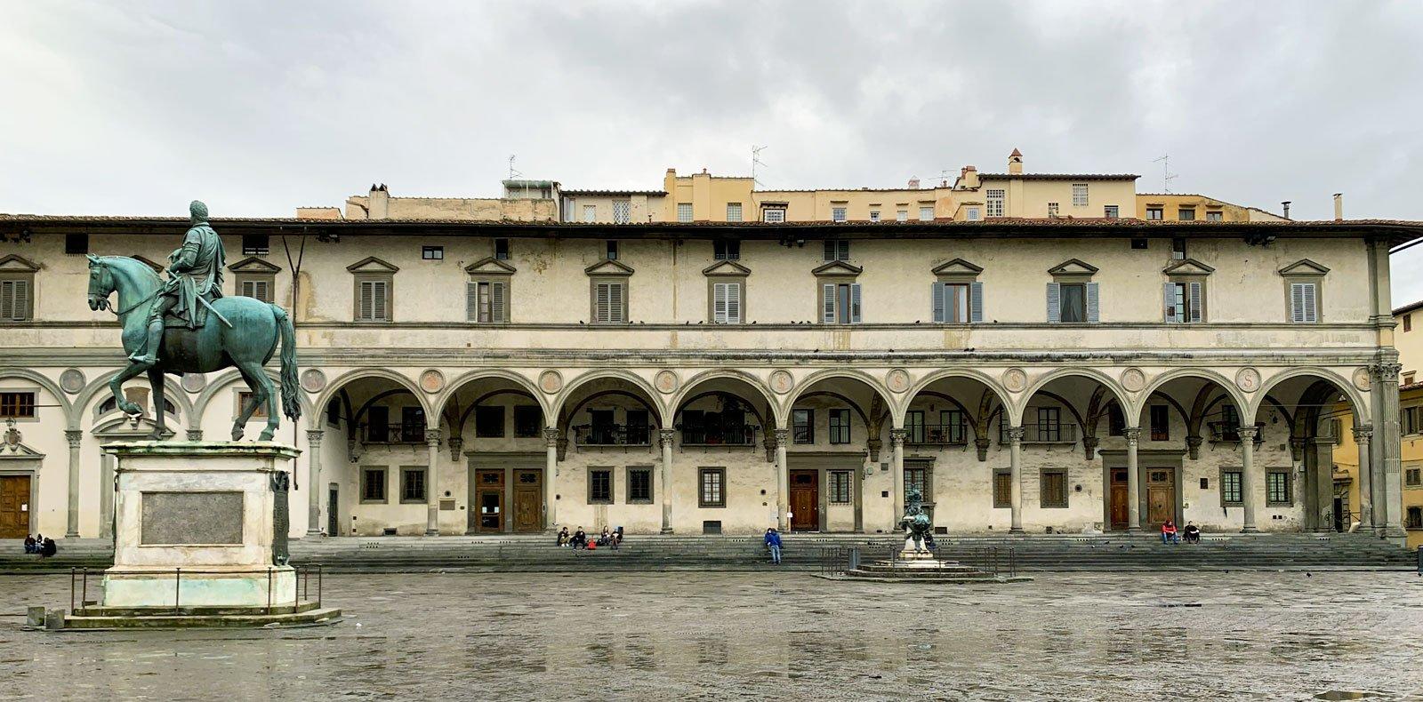 Loggia degli Innocenti del Brunelleschi
