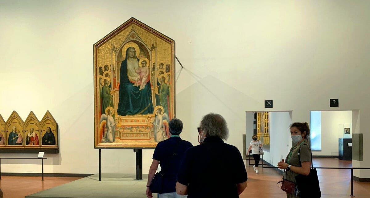 Madonna Ognissanti, Giotto, 1310